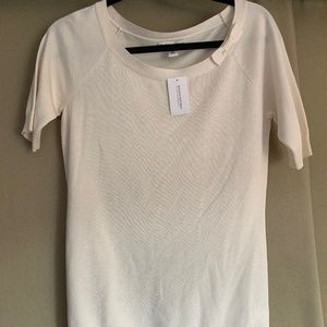 NWT Banana Republic Cream Sweater-shirt
